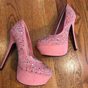 Liliana Paulette Sparkle Heels